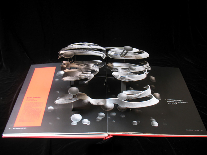 67edeaa34f59d ... art into pop-up 3D splendor in this beautiful coffee table book from  BlueRed Press Ltd (2011). The book includes descriptions of the artwork and  quotes ...