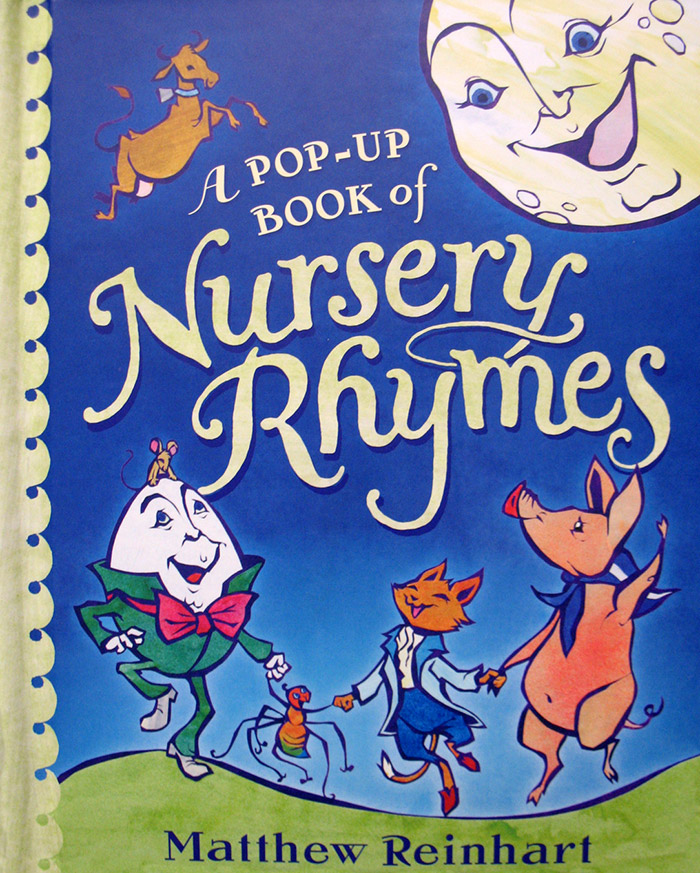 A Pop-Up Book of Nursery Rhymes: A Classic Collectible Pop-Up