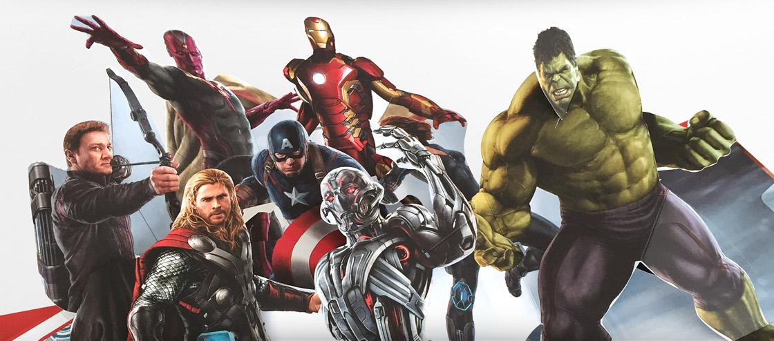 Marvel Avengers pop-up book