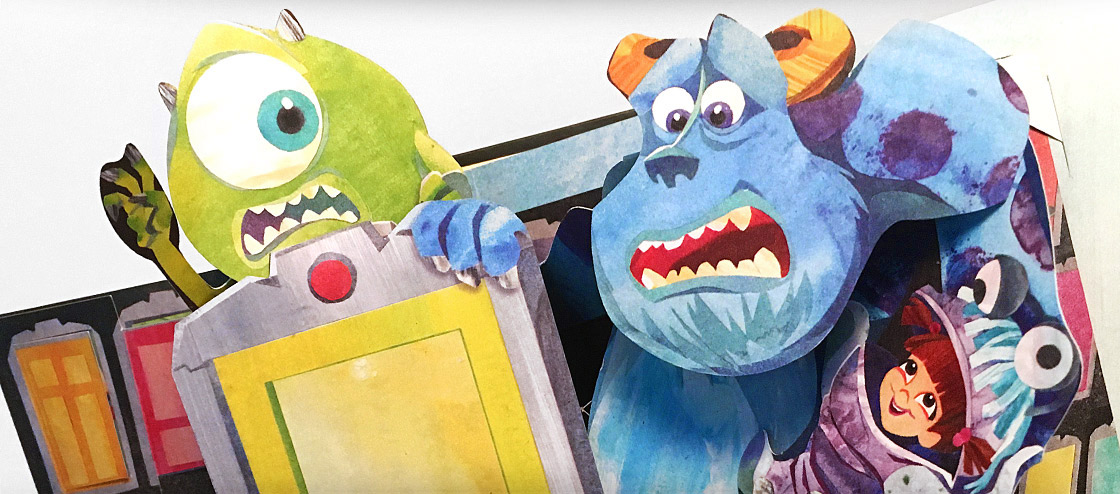 Pixar A Pop-Up Celebration