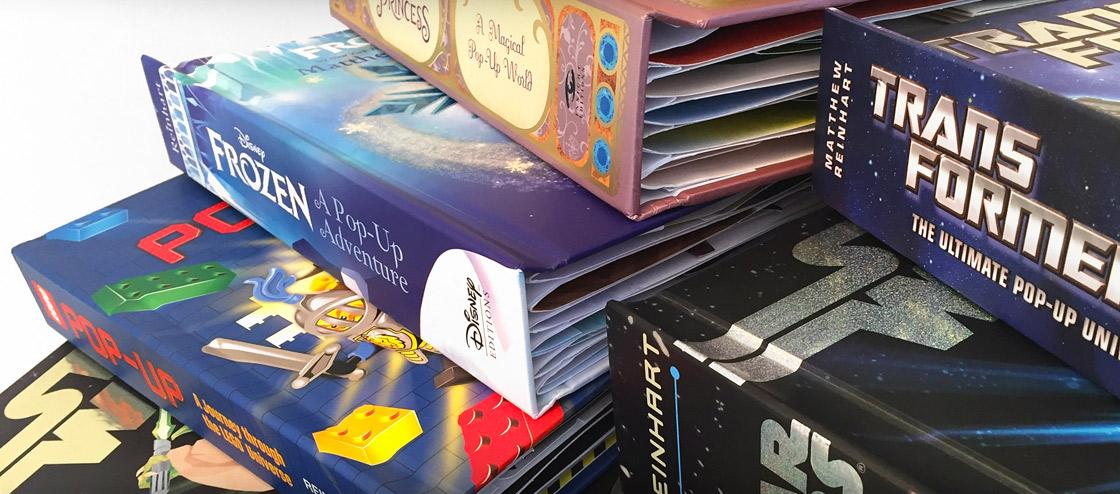 Matthew Reinhart Pop-up books
