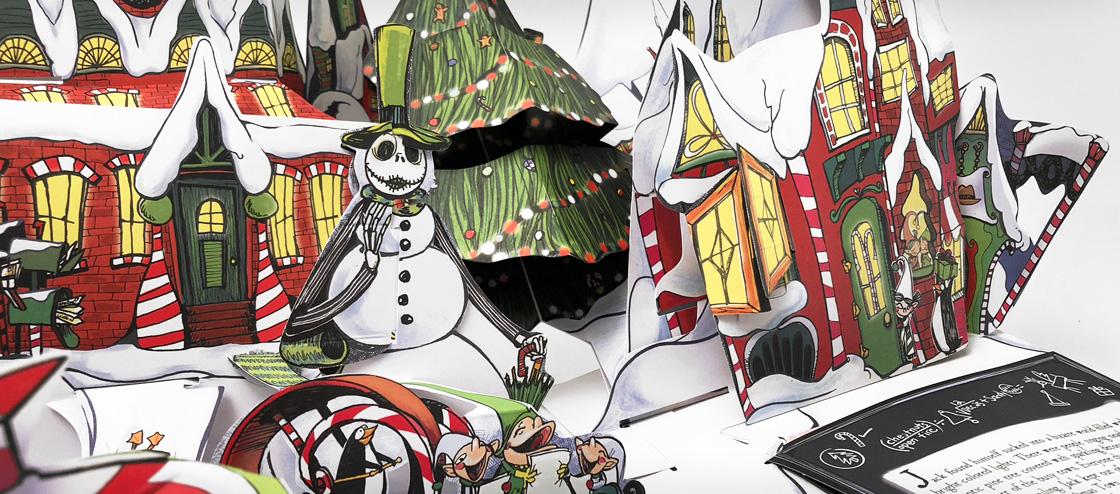 Tim Burton's The Nightmare Before Christmas Pop-Up